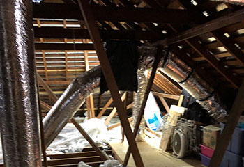 Attic Insulation Removal Project | Attic Cleaning Hayward, CA